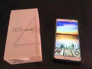 Frost White Samsung Note 4 mint condition