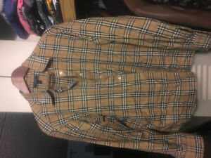 Authentic Burberry button down