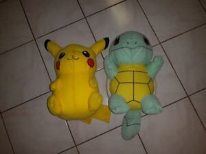 Pikachu & Squirtle