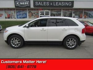 2013 Ford Edge Limited  NAV, ROOF, CAM, HS, P/GATE, BT, LEATHER