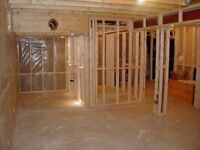 $2700 for most framed basements including materials
