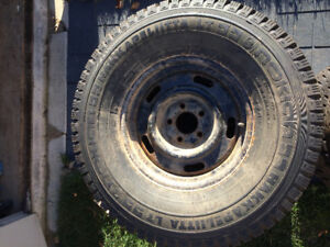 4 studded Nokian winter tires for ford ranger or jeep
