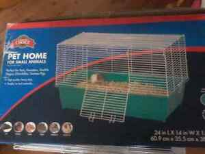 Small animals cage like new with extras Cambridge Kitchener Area image 2