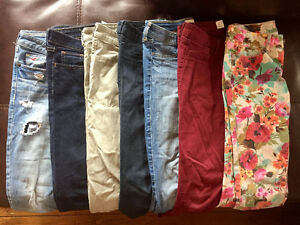 JEANS AND SHORTS - Gently worn, Sizes 1-3