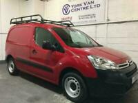 2016 Citroen Berlingo 1.6 BlueHDi 850Kg X 100ps PANEL VAN, RHINO ROOF RACK