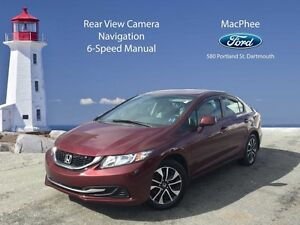 2013 Honda Civic EX   - moonroof -  cruise control