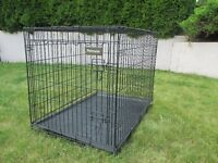 Lg Dog Kennel / Crate (Metal)