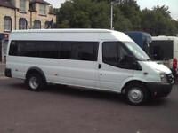 FORD TRANSIT 17 SEAT MINIBUS 115PS 6 SPEED DIGITAL TACHOGRAPH EU COC PSV