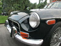 REDUCED - Rare 1970 Split Chrome Bumper MGB