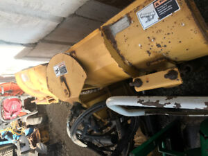 HLA small tractor v blade