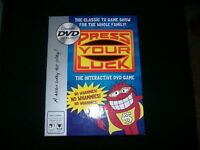 PRESS YOUR LUCK DVD GAME                     FOR SALE