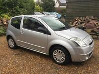 2005 54 CITROEN C2 1.1 SX 3 DOOR HATCH 5 SPEED MANUAL