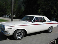 REDUCED! 1963 dodge 440 convertible trades?