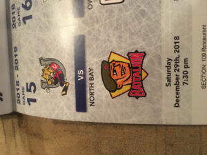 Barrie Colts Tickets