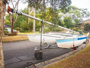 G-CAT 5.0m (16ft) Catamaran CARRIES 5! & Gal Trailer w/12 mo Rego Balgowlah Manly Area Preview