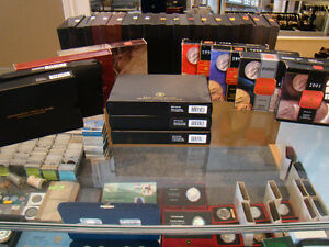 RCM CANADIAN SILVER COIN PROOF SETS @ M&K TRADING