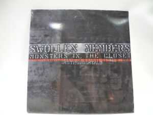 Swollen Members-Monsters In The Closet Instrumentals-Sealed Copy