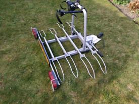 Rear cycle carrier 4 bikes