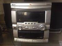 Schneider 3 disc Music system