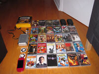 Psp god of war with movies and games