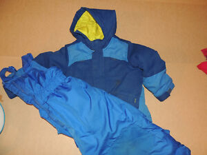 Great quality winter jackets and coats, snow pants, size 2-3-4