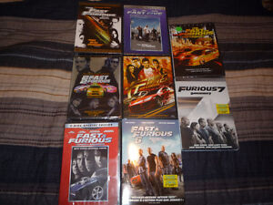The Fast and The Furious - Trilogy - DVD Set