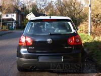 Genuine 2004-2009 golf mk5 rear passenger door + door cards (LC9X) black