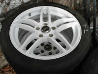 """17"""" ADR mags with Hankook Z rated 215/45/ZR17"""
