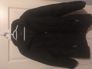 Roots down filled winter jacket