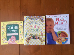DIY Baby food books