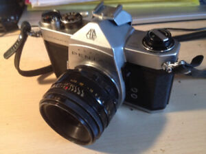 Vintage Pentax 35 mm SLR Cameras, Lenses & Accessories