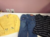 Lot de vêtements fille 4 ans (Levis, Blu, Tommy Hilfiger, 2X2)