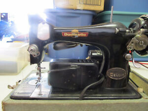 old sewing machine 1950/60's ?  cool looking
