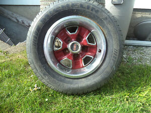 CLASSIC 442 OLDS RIMS W/TIRES