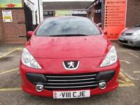 Peugeot 307 CC 1.6 16v ( 110bhp ) Coupe 2005MY S