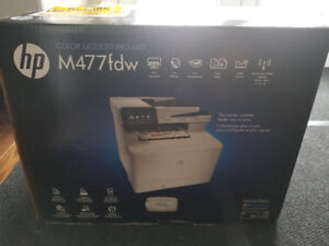 HP unboxed Color Laserjet Pro MFP M477 fdw with HP's 1yr warrnty