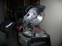 scie a onglets  (mitre saw)