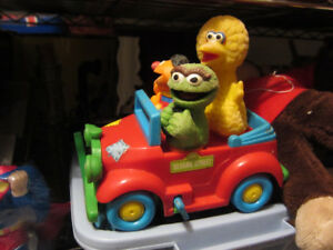 Vintage Sesame Street  Windup Car