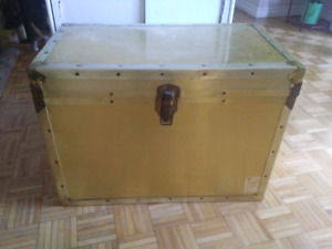 Metal Gold Chest