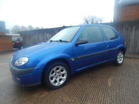 Citroen Saxo 1.4i 2000MY Furio Ltd Edn