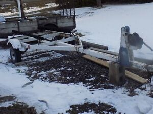 18 ft boat trailer with bunks