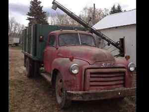 1949 GMC grain truck