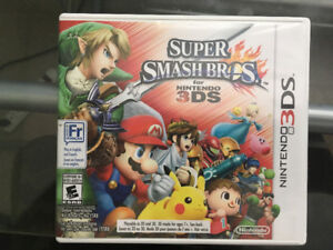 Super Smash Brothers - 3DS