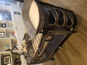 LUX Playard w/ change table/storage and bassinet
