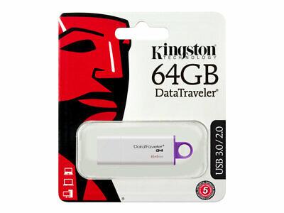 DTIG4/64GB . PENDRIVE Kingston DATATRAVELER 64GB *emitimos factura