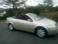 2005 Renault Megane coupe convertible