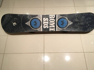 Équipement de qualité !!** snowboard, fixation, bottes