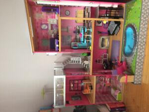 Maison de barbie