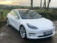 2019 Tesla Model 3 PERFORMANCE AWD Auto Saloon Electric Automatic