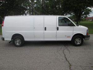 Chevrolet Express 3500 allongé 2012